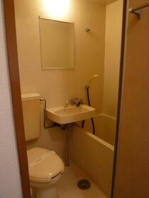ハイムさんきパート6 202号室の風呂