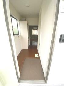 ベイハウス山手 202号室の玄関