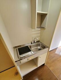 東長沼2号ビル 201号室のキッチン