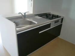 スクエア D 201号室のキッチン