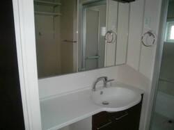 スクエア D 201号室の洗面所