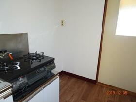 金子荘 201号室のキッチン