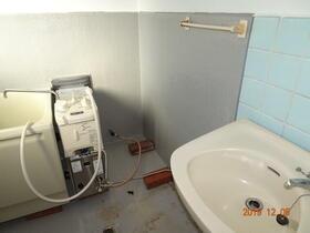 金子荘 201号室の洗面所