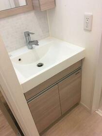 アリーチェ新江古田 501号室の洗面所
