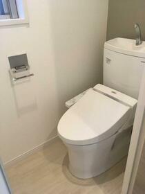 アリーチェ新江古田 501号室のトイレ