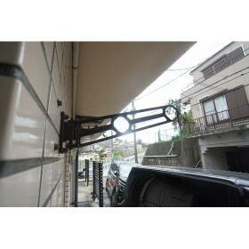 レガーロ横濱 101号室のバルコニー