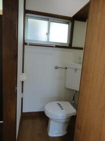泉ハイツ 201号室のトイレ