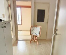 ヘスティア・ベッセル 301号室の玄関