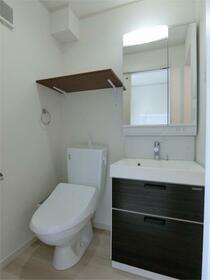 ハーミットクラブハウス大船IIIB棟(仮) 103号室の洗面所