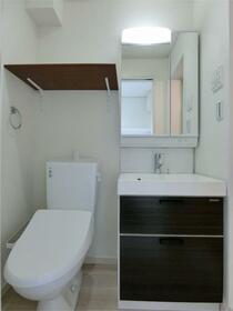 ハーミットクラブハウス大船IIIB棟(仮) 103号室のトイレ