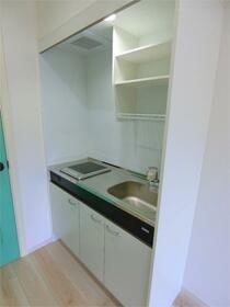 ハーミットクラブハウス大船IIIC棟(仮) 302号室のキッチン