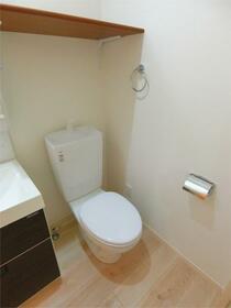 ハーミットクラブハウス大船IIIC棟(仮) 302号室のトイレ