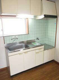 藤間コーポ 0202号室のキッチン