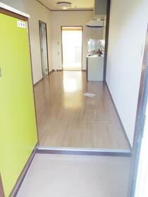 ワコーマンション 103号室の玄関