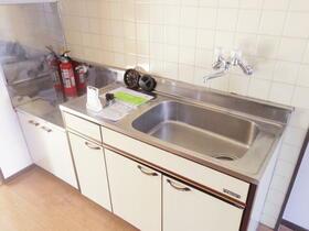 ワコーマンション 103号室のキッチン