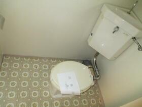ハウス清水 205号室のトイレ