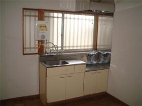 戸沢アパート 102号室のキッチン