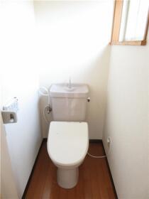 パークサイドハウス三浦 202号室のトイレ