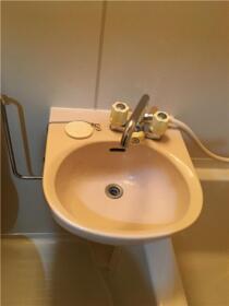 ヒルトップ内村 103号室の洗面所