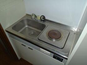 オムサヴァイセキ 104号室のキッチン