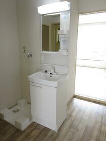 グリーンハイツ欅 101号室の洗面所
