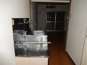グランドール大南B 202号室のキッチン