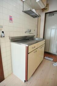 メゾン・ド・アドミレ 0203号室のキッチン