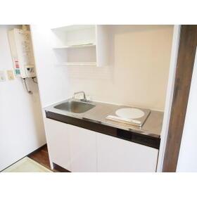 セイワハイム 201号室のキッチン