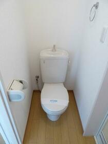 ハーミットクラブハウスアーミーズ 103号室のトイレ