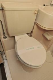 メゾン・ド・サペン 0107号室のトイレ