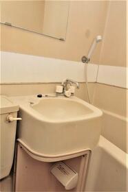 メゾン・ド・サペン 0107号室の洗面所