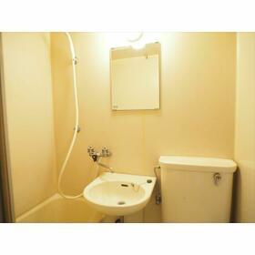 田島ガーデンハイツ 203号室の洗面所