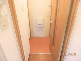 エアフォルク綱島 303号室の玄関