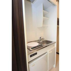 G・Aヒルズ西谷 101号室のキッチン