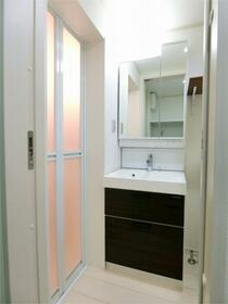 ハーミットクラブハウス霞台IV(仮) 102号室の洗面所