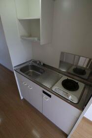 Mハウス 202号室のキッチン