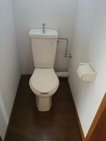 サンハープ浜田山 202号室のトイレ