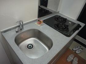 リッツコート 202号室のキッチン