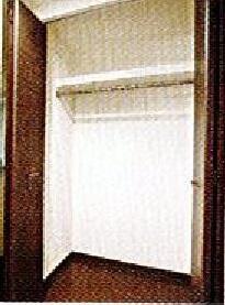 スパシエベレーザ練馬 405号室の収納