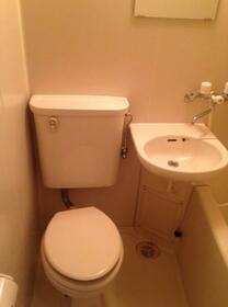 カオパレスNo20 305号室のトイレ