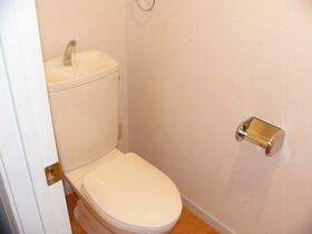 CSヒルズ 101号室のトイレ
