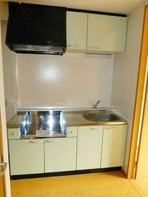 ルキヤ幡ヶ谷(ハタガヤ) 301号室のキッチン