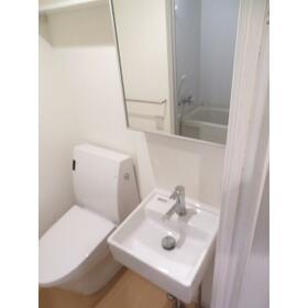 プランドール豊玉中 0302号室のトイレ