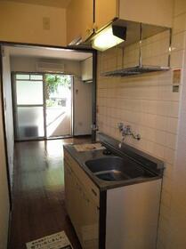 メゾン・ド・アドミレ 0202号室のキッチン