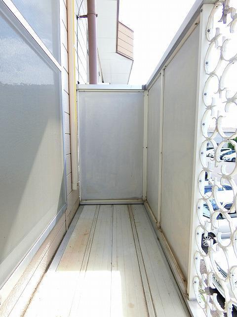 ウィングス21 02060号室のバルコニー