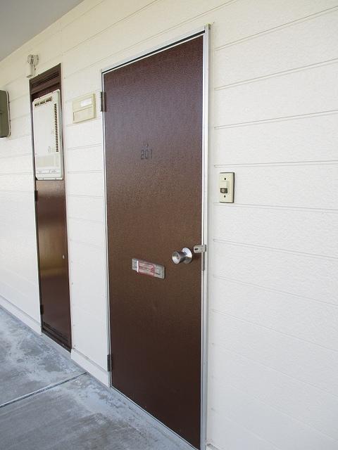 メゾンパストラルB 02010号室のセキュリティ