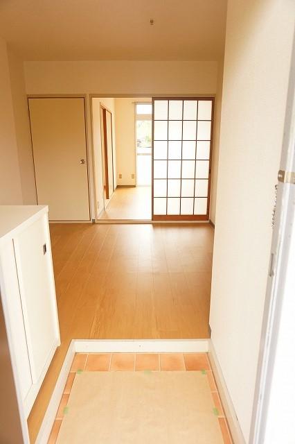 ハイム・トシ 01030号室の玄関
