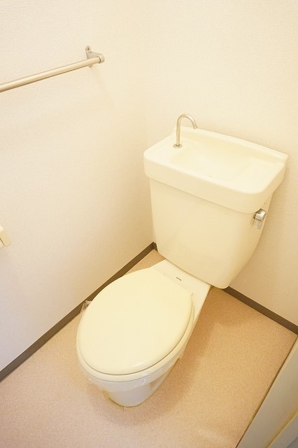 ハイム・トシ 01040号室のトイレ