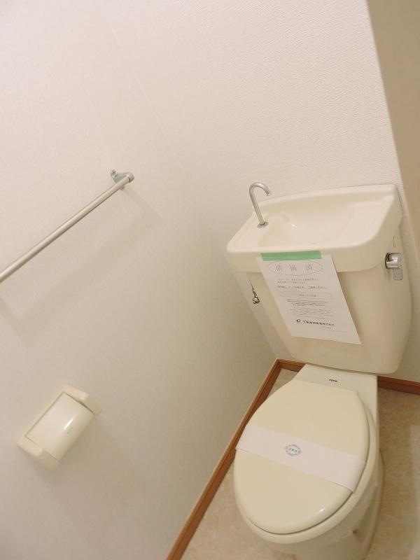 ハイム・トシ 02070号室のトイレ
