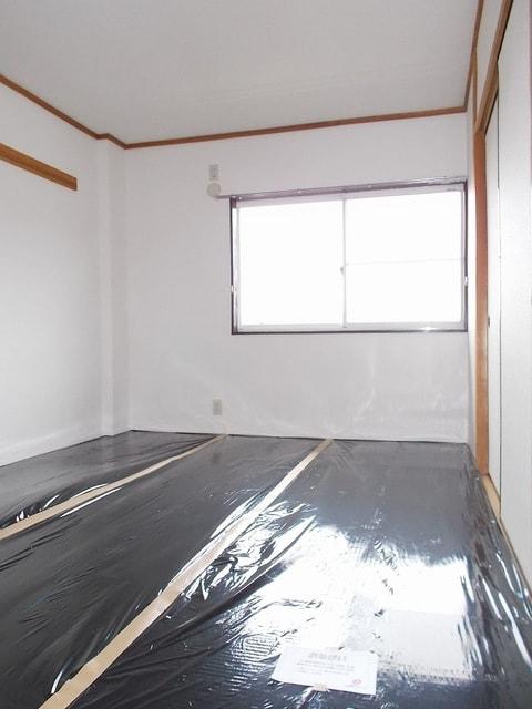 ピースファルハイツ 02050号室のベッドルーム